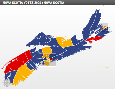 Nova Scotia election, 2006