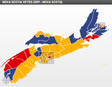 Nova Scotia election, 2009